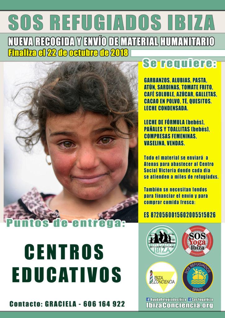 CARTEL SOS CENTROS EDUCATIVOS