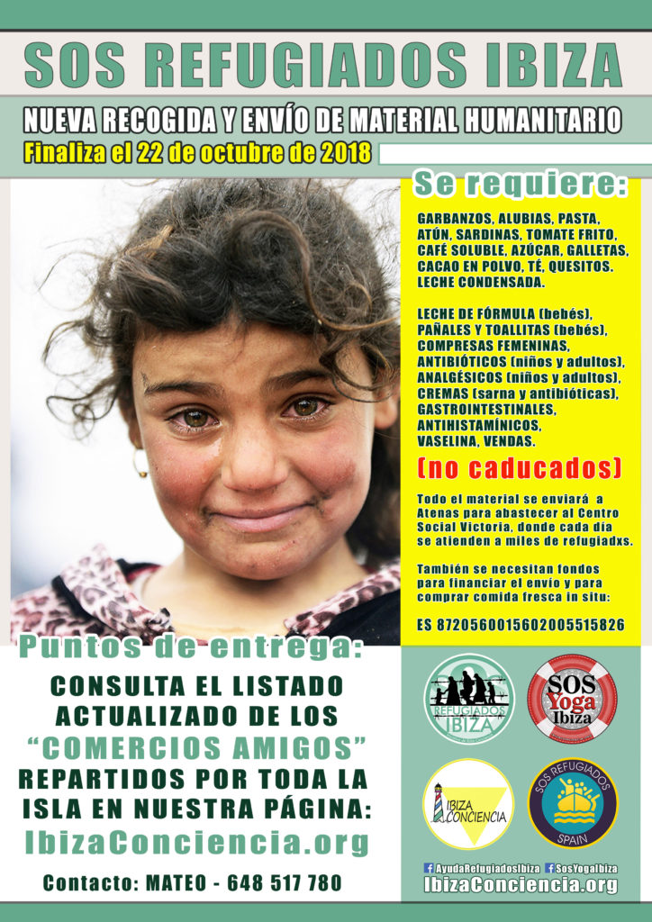 CARTEL SOS REFUGIADOS GRAL